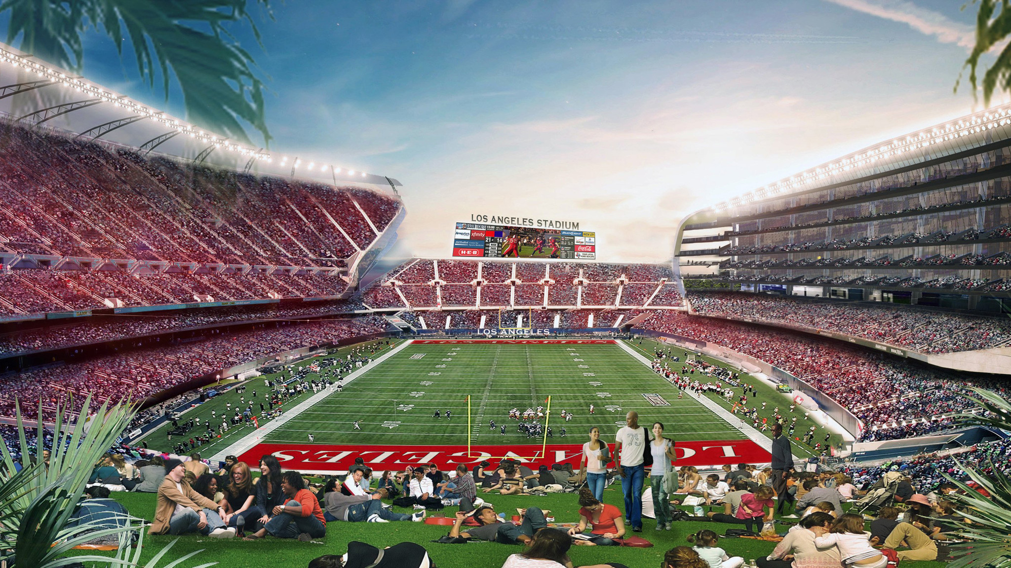 Carson Council To Vote On Nfl Stadium Plan After