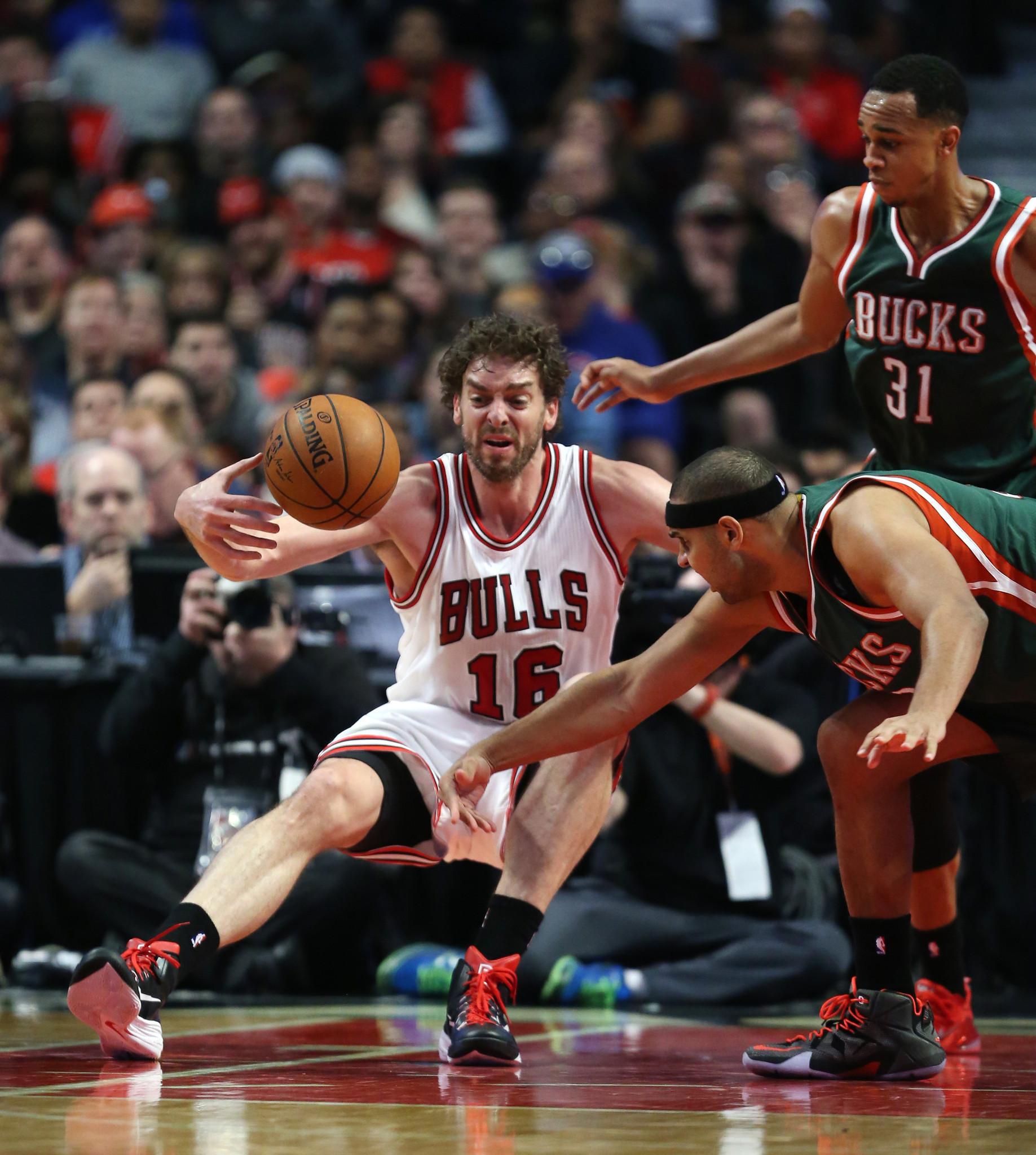 It's That Time Of The Season For Bulls' Pau Gasol