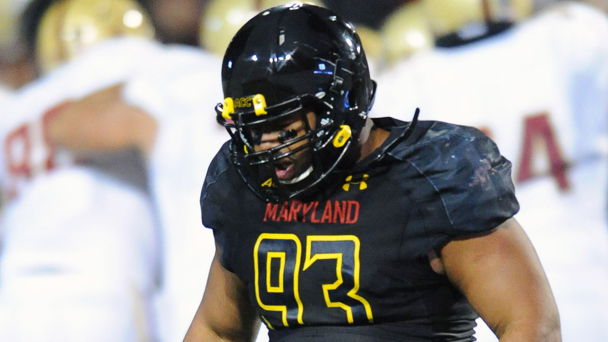 033ac3c89 Stocky Maryland lineman Andre Monroe hopes NFL teams focus more on  production than his height - Baltimore Sun