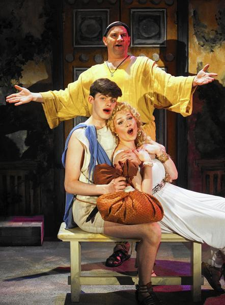 A critique of stephen sondheims a funny thing happened on the way to the forum