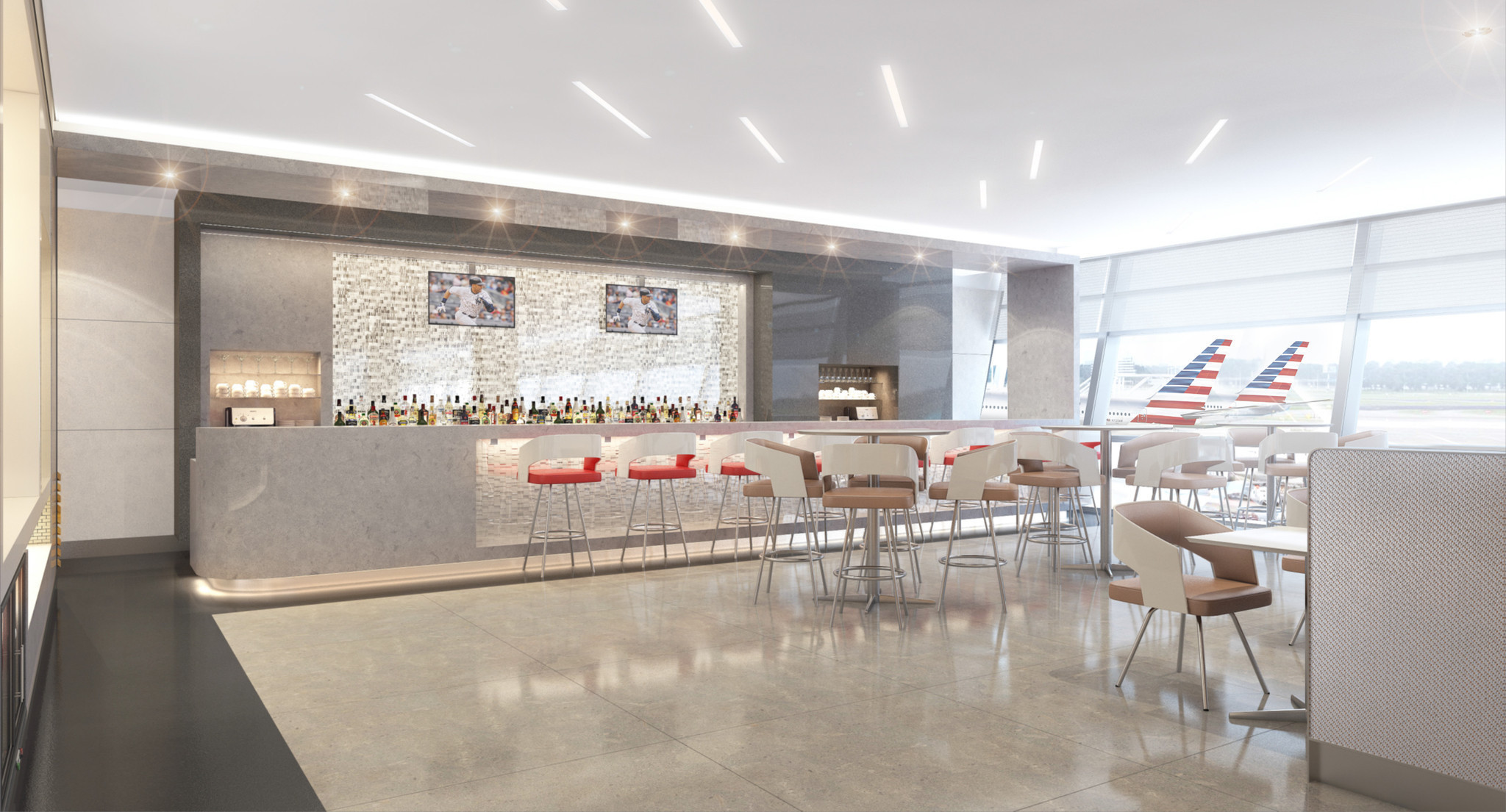 American Airlines To Renovate Airport Lounges Chicago