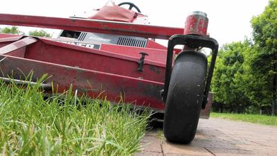 Grass clippings left behind after mowing can feed your lawn