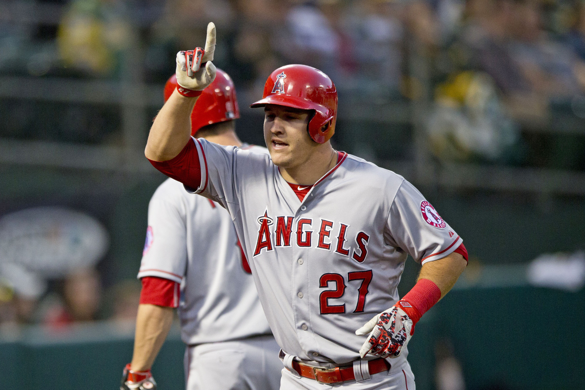Mike Trout homers in Angels' 6-3 win over Athletics - LA Times
