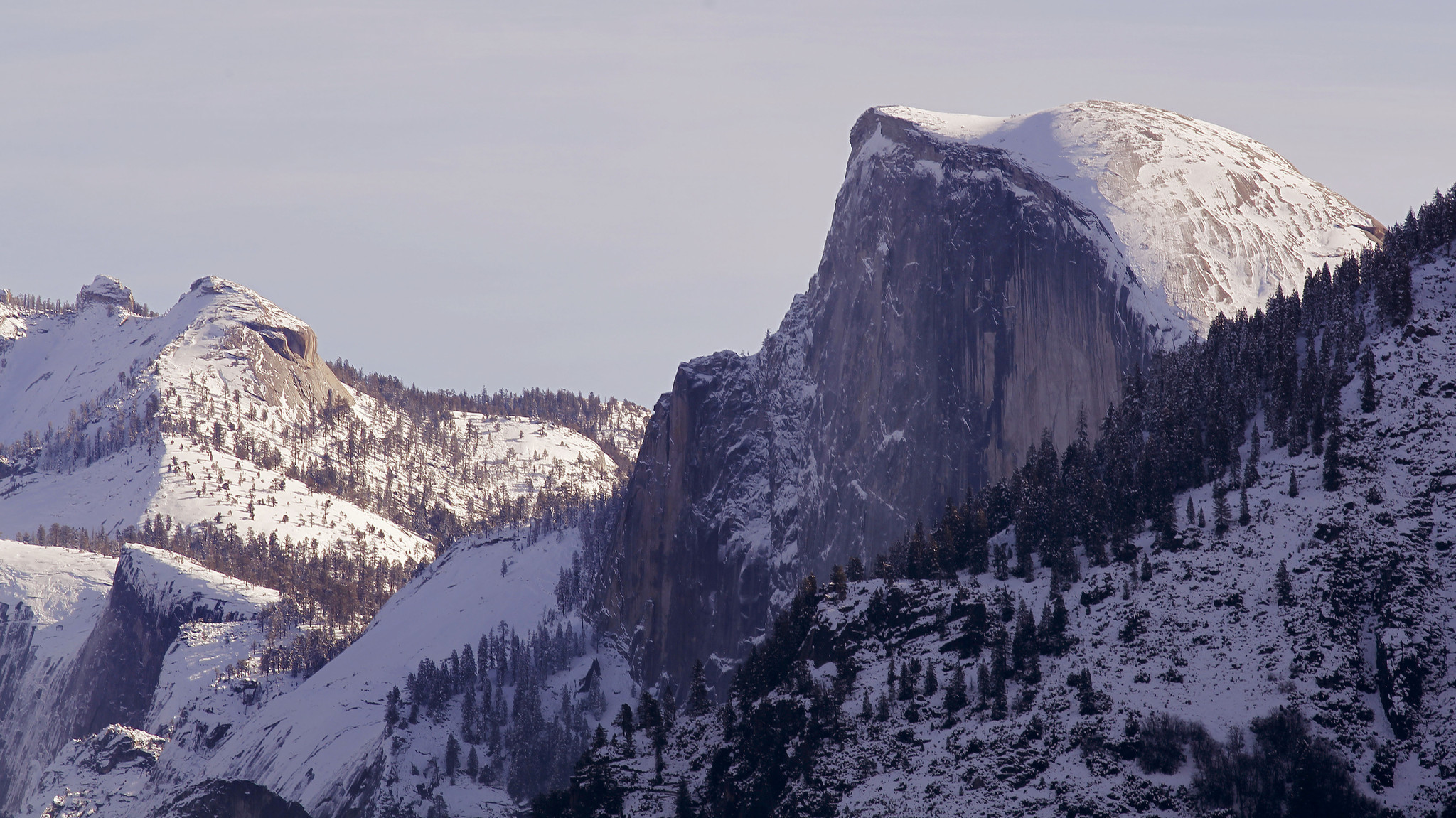 Yosemite S Half Dome Opens Three Weeks Early Because Of