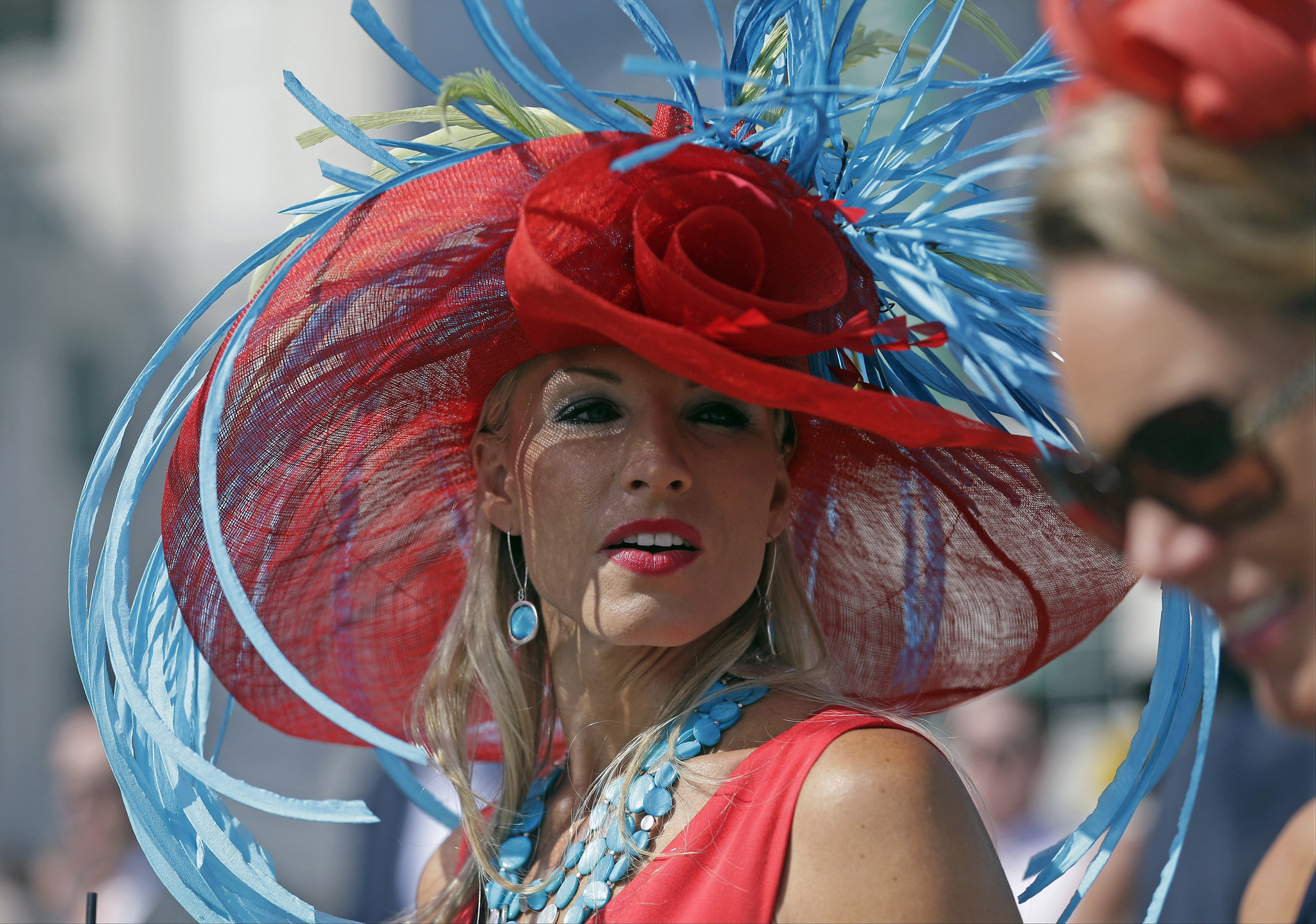 4818f07f8d1 Pictures  The hats of the 141st Kentucky Derby - Orlando Sentinel