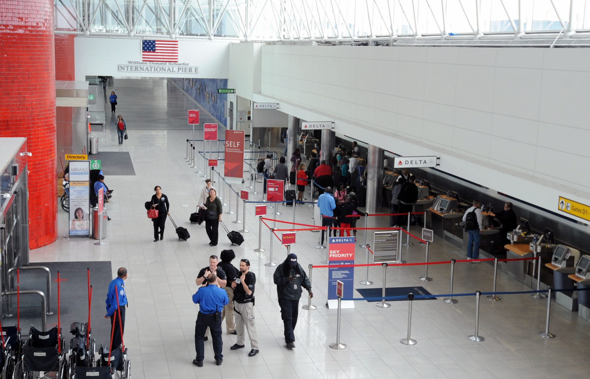 New Flights To Begin At Bwi As Terminal Construction