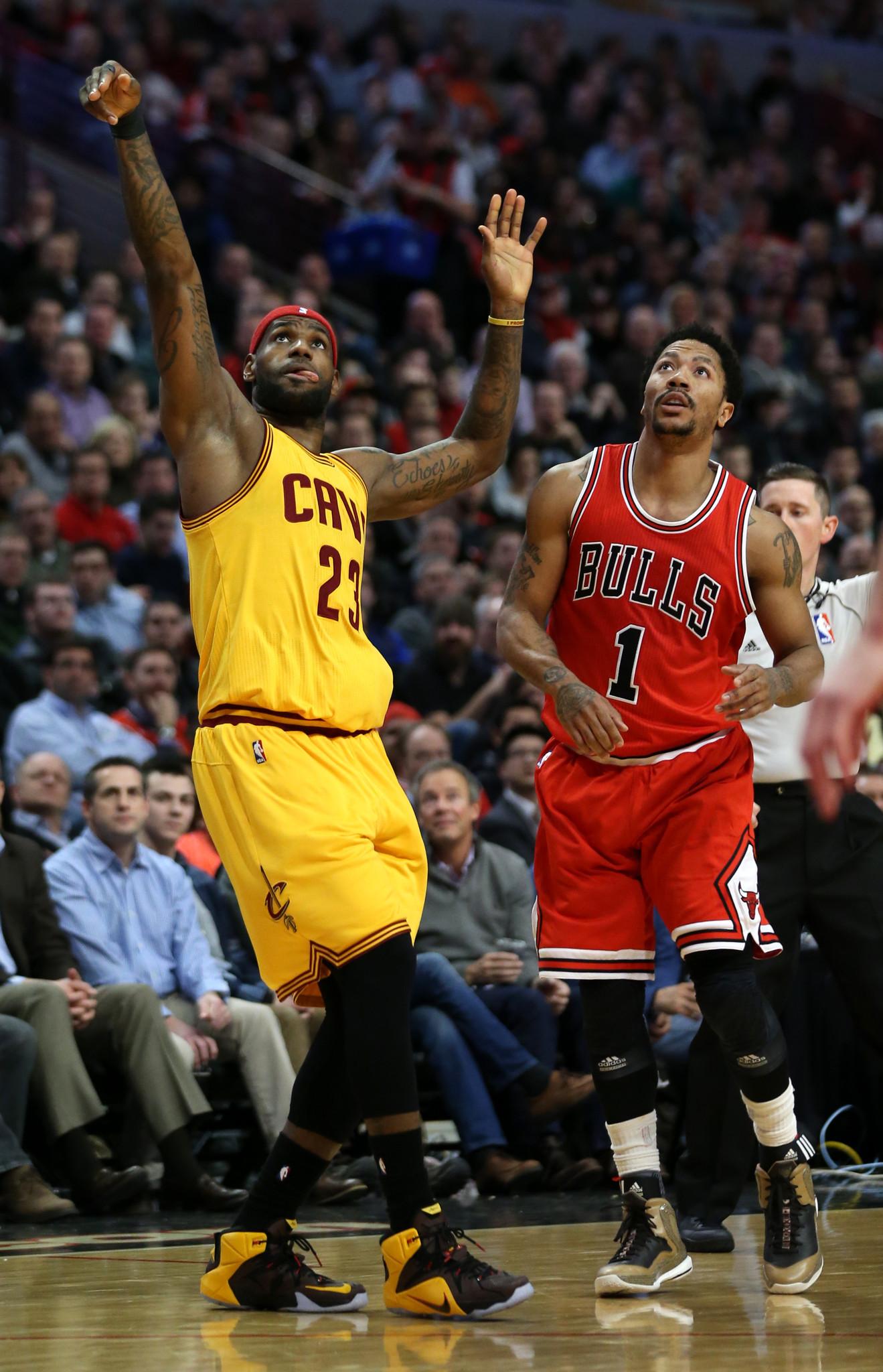 7bbdc2195ff2 LeBron James prepared to lock down Derrick Rose -- again - Chicago Tribune