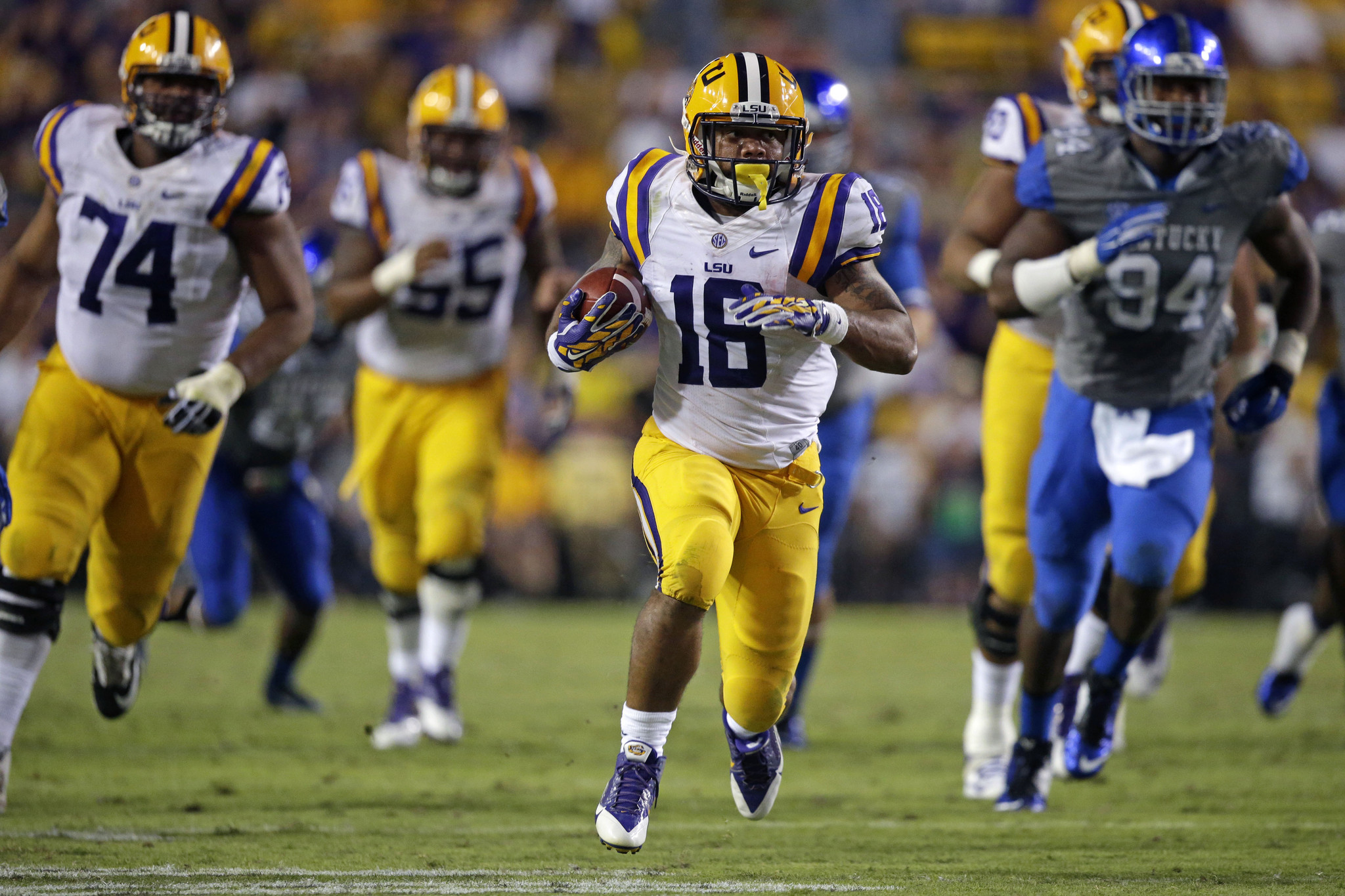 Lsu Running Back