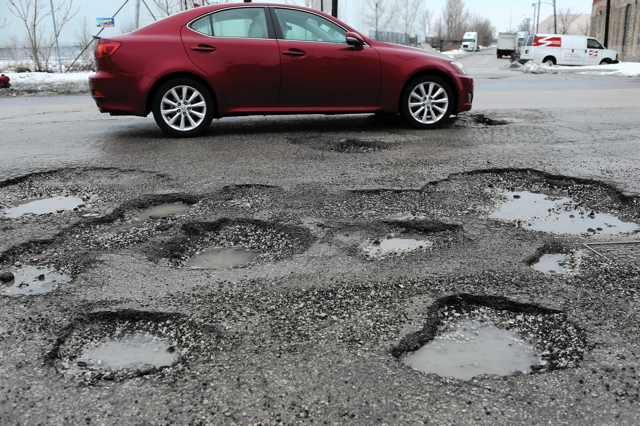 All Vehicle Contracts >> How to minimize damage from potholes - Chicago Tribune