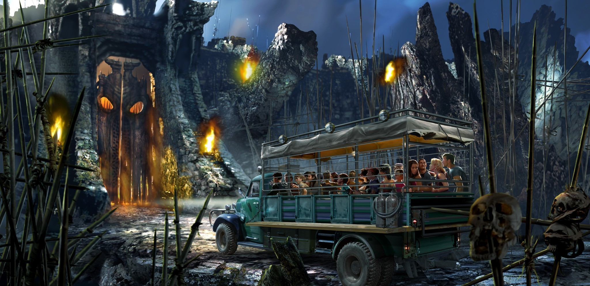 Universal Adding King Kong Ride At Islands Of Adventure Orlando