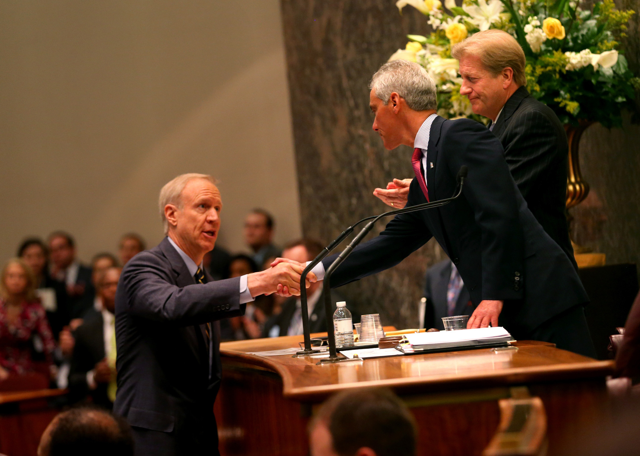 Rauner To Aldermen: 'For Chicago To Get What It Wants