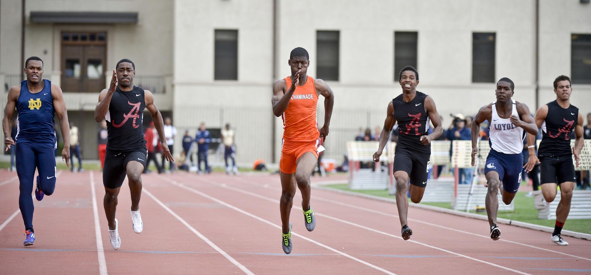 occidental college track meet