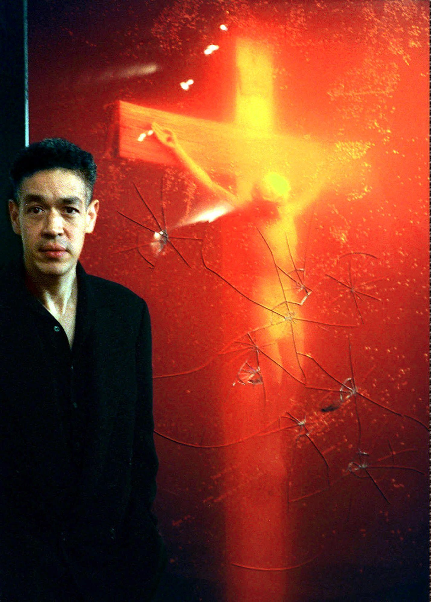 Reserve, Mapplethorpe piss christ something