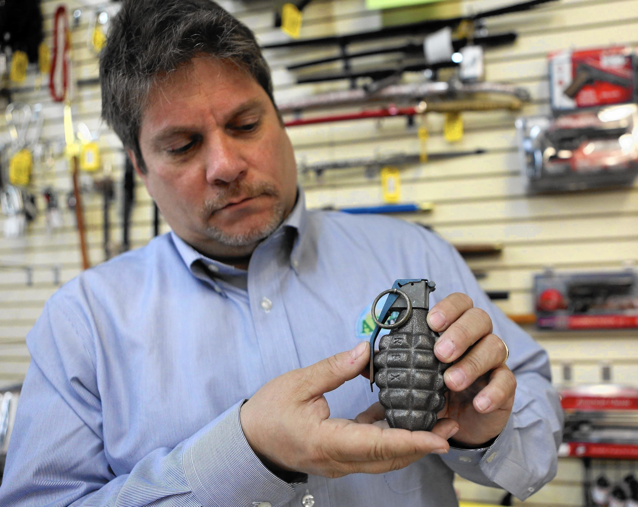 War keepsakes, lookalike grenades surface unexpectedly - Orlando