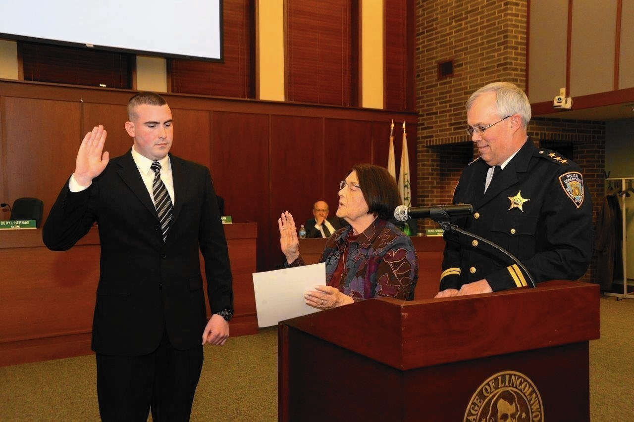 Law Enforcement Ranks >> Q-and-A: Lincolnwood's new police officer, Patrick Falson ...