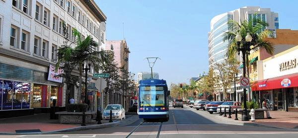 Freeway Auto Center >> Rail could make a comeback in O.C. with proposed streetcar ...