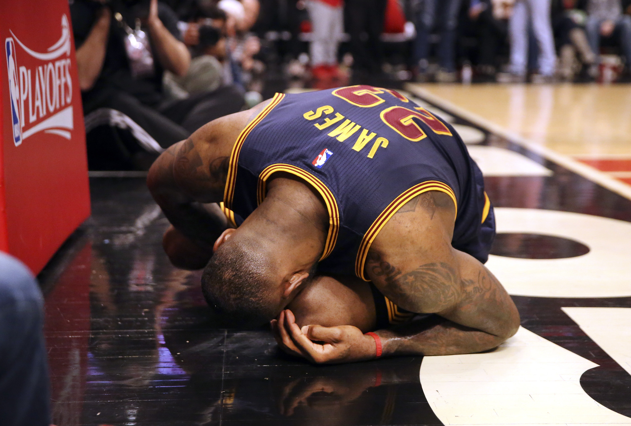 LeBron James on his ankle: 'It's been better, it's been worse' - Chicago Tribune