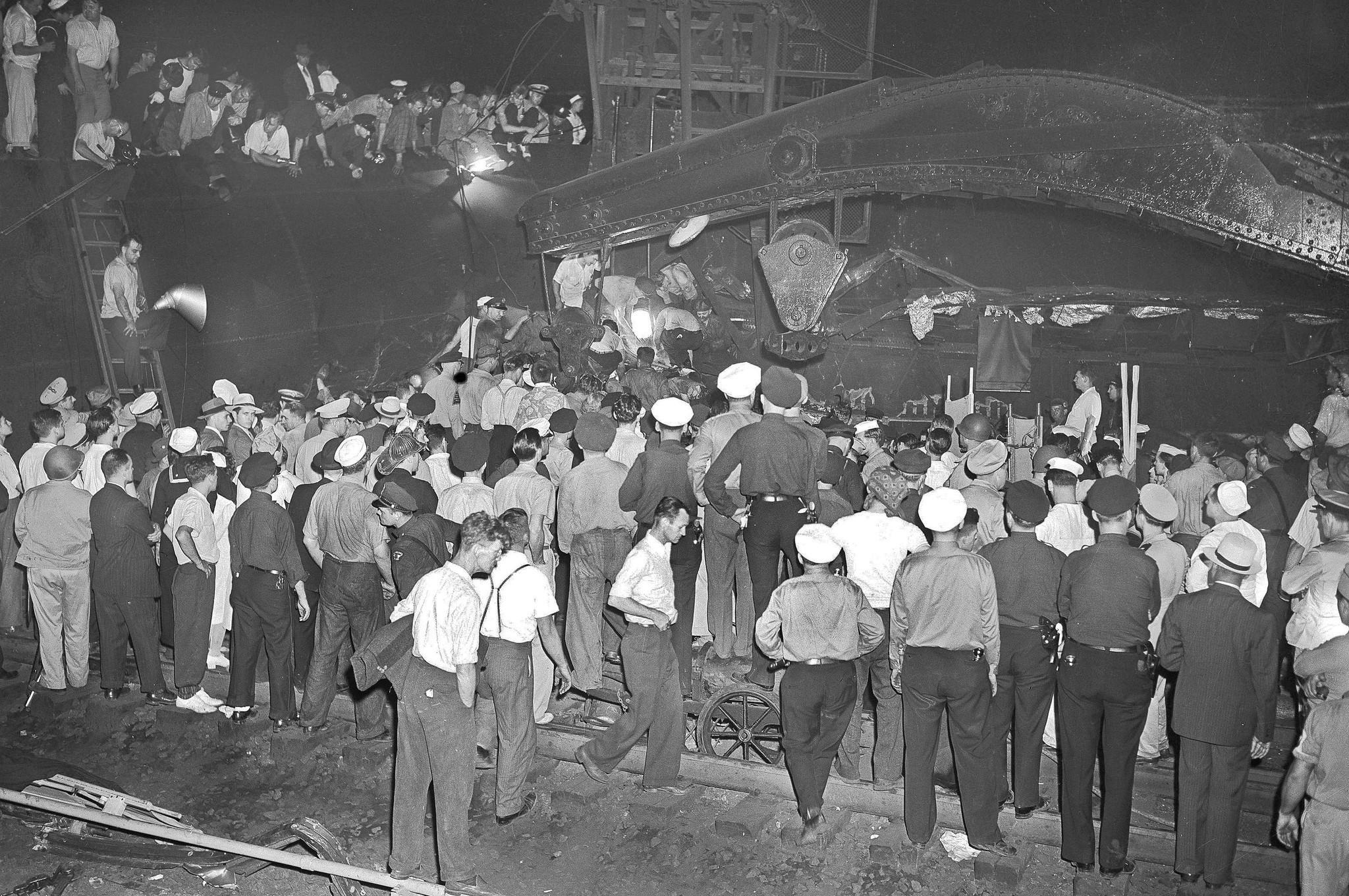 1943 derailment that killed 79 occurred near Amtrak crash - The