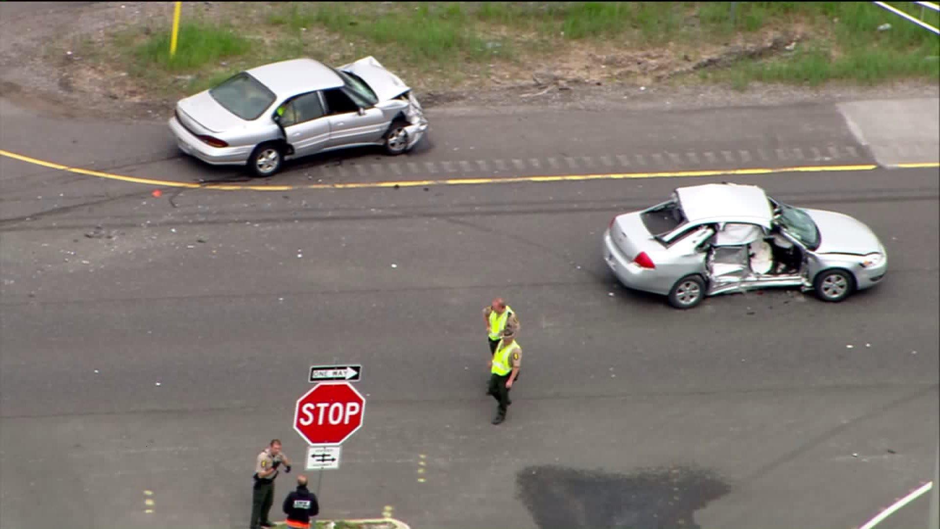 Car Accident In Crete, Illinois