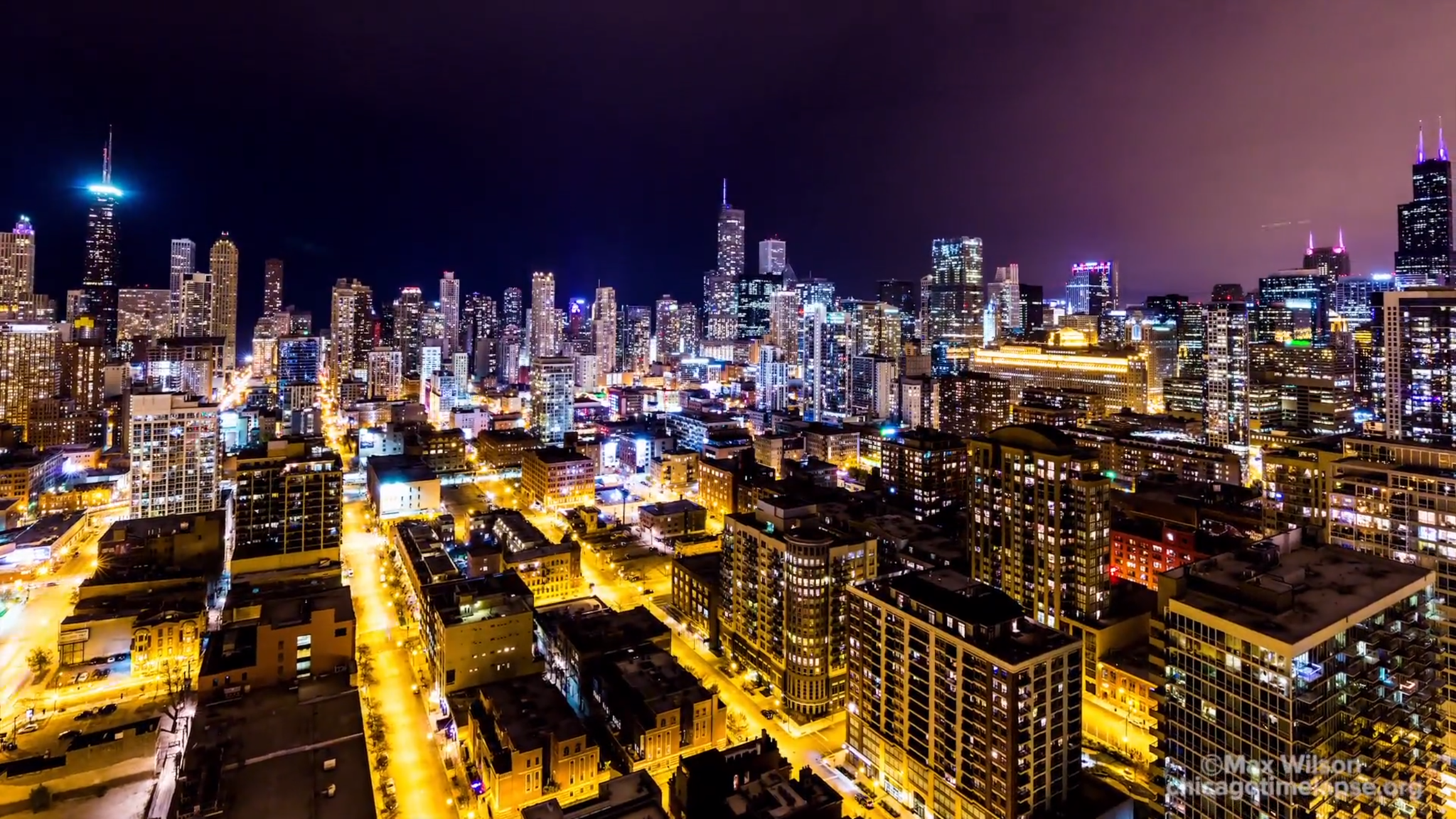 Chicagos Streets Of Gold Captured In Time Lapse Video