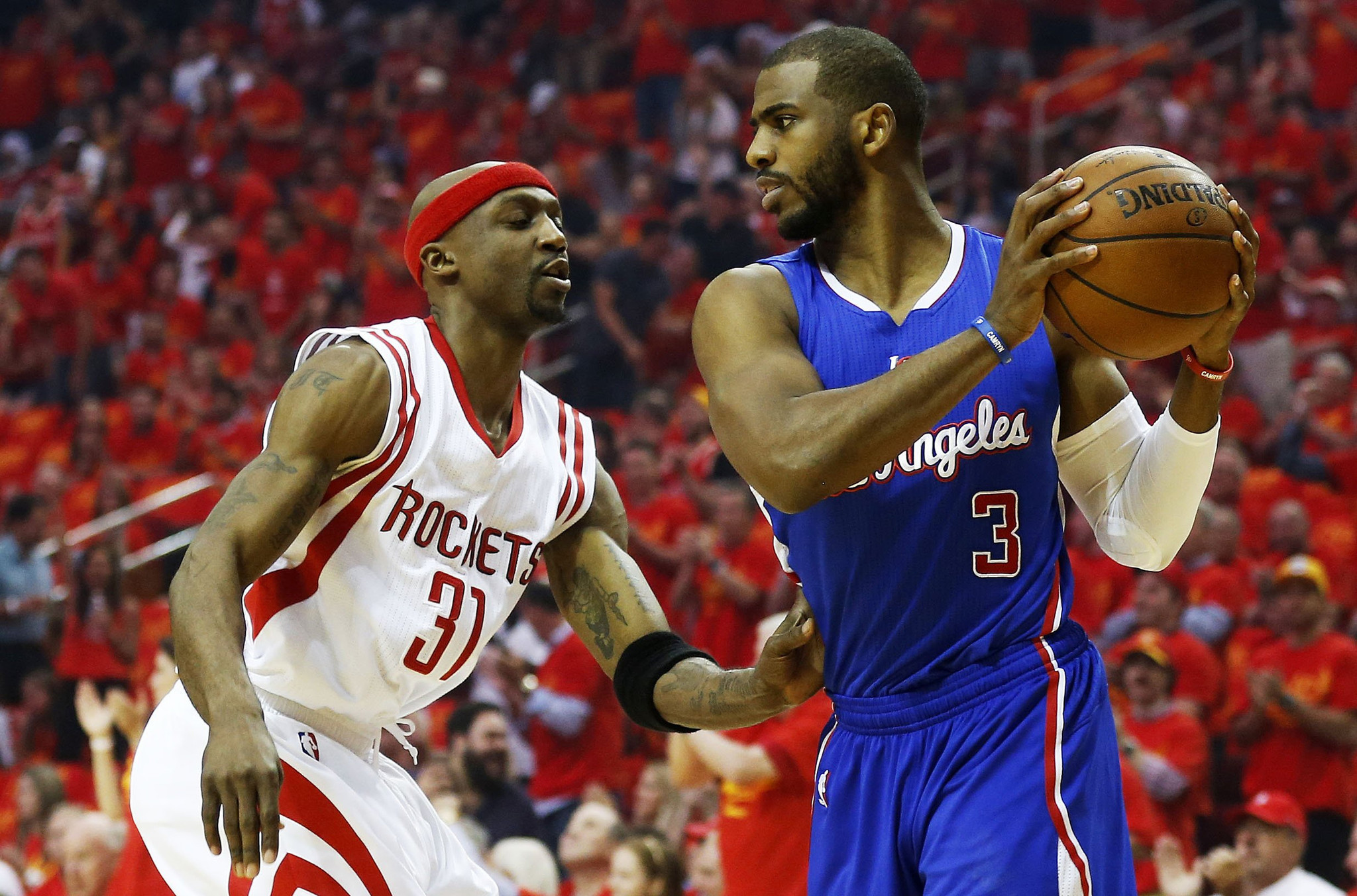 NBA Playoffs: Clippers fall in Game 7 to Rockets, 113-100 ...Rockets Game