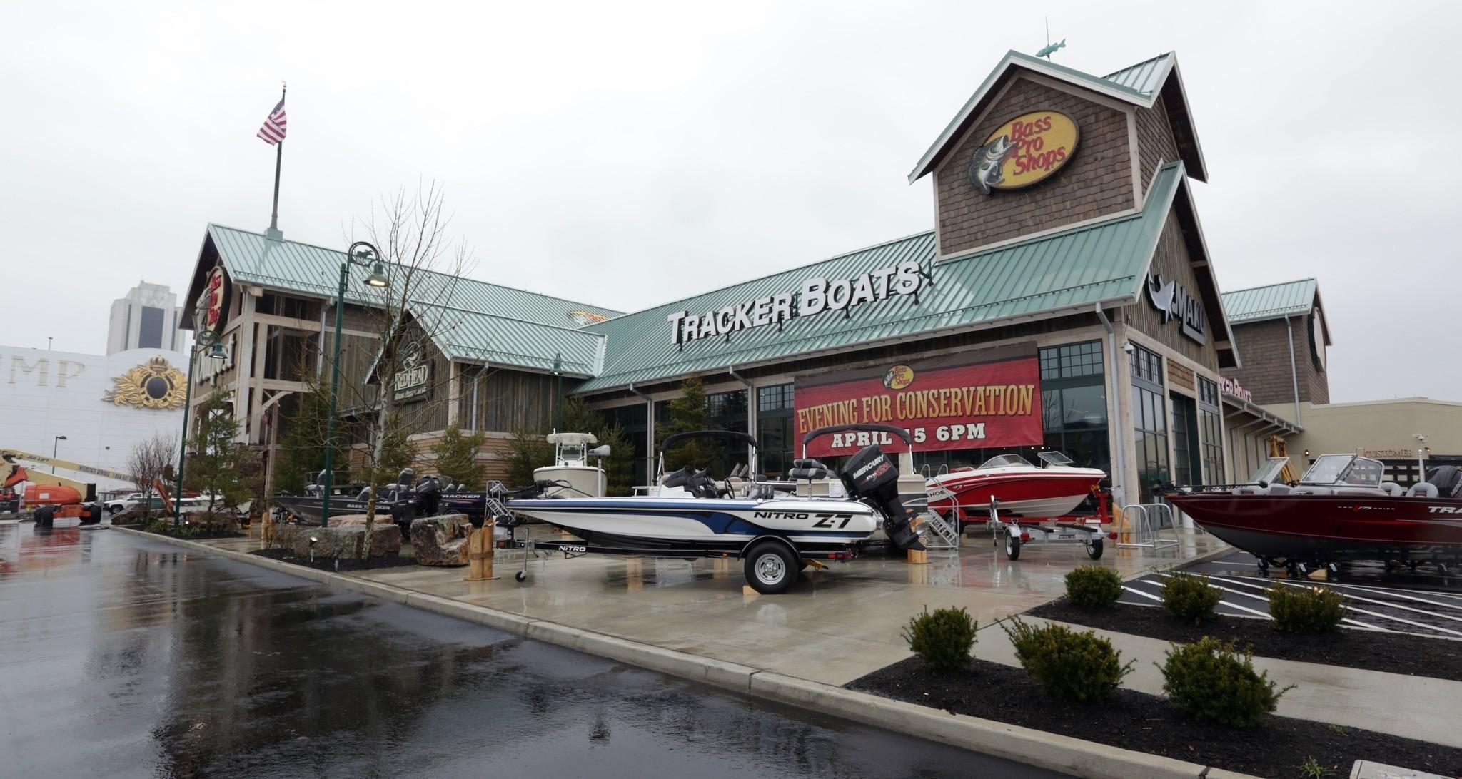 Bass Pro Shops an unconventional Atlantic City retailer doing well