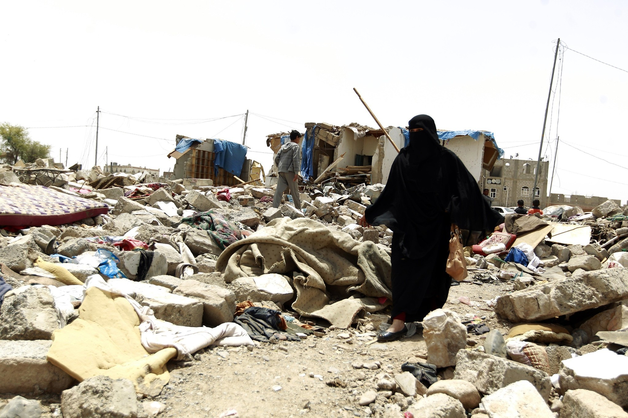 In Yemen, hundreds flee as airstrikes pummel capital after ...