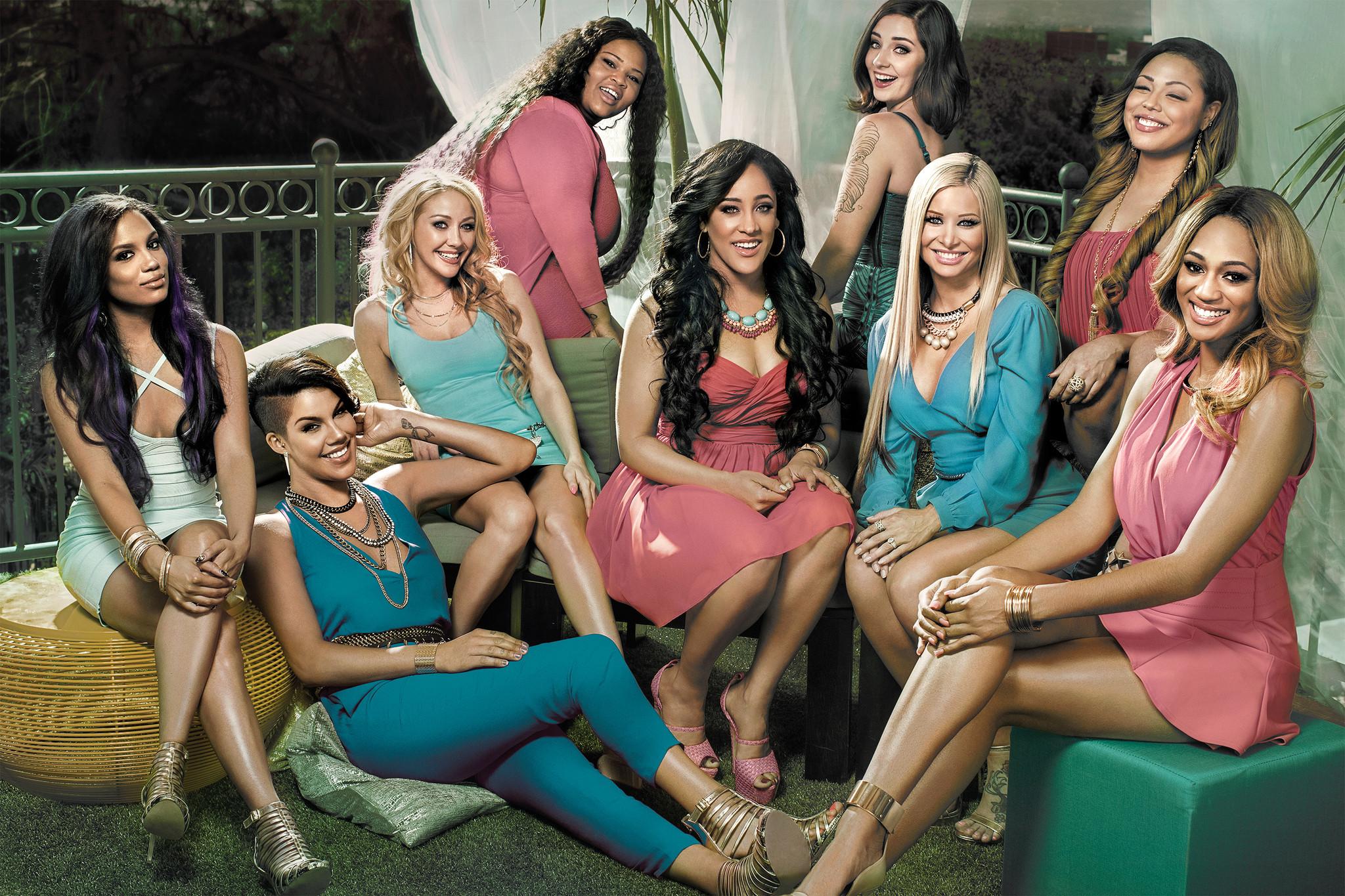 girls in a club