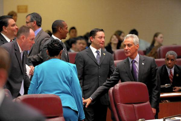 Emanuel Waiting For Springfield Smoke To Clear On Budget