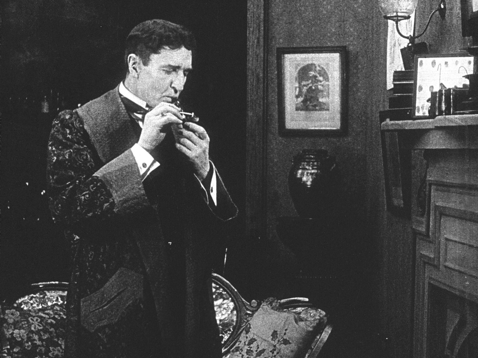 A Lost Sherlock Holmes Film From 1916 Found Chicago Tribune