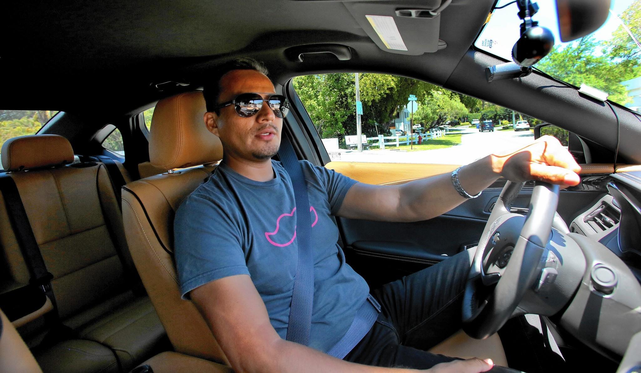 Who Are Uber Lyft Drivers Sun Sentinel
