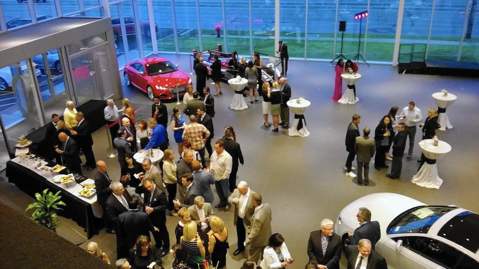 audi dealership celebrates grand opening in morton grove - morton
