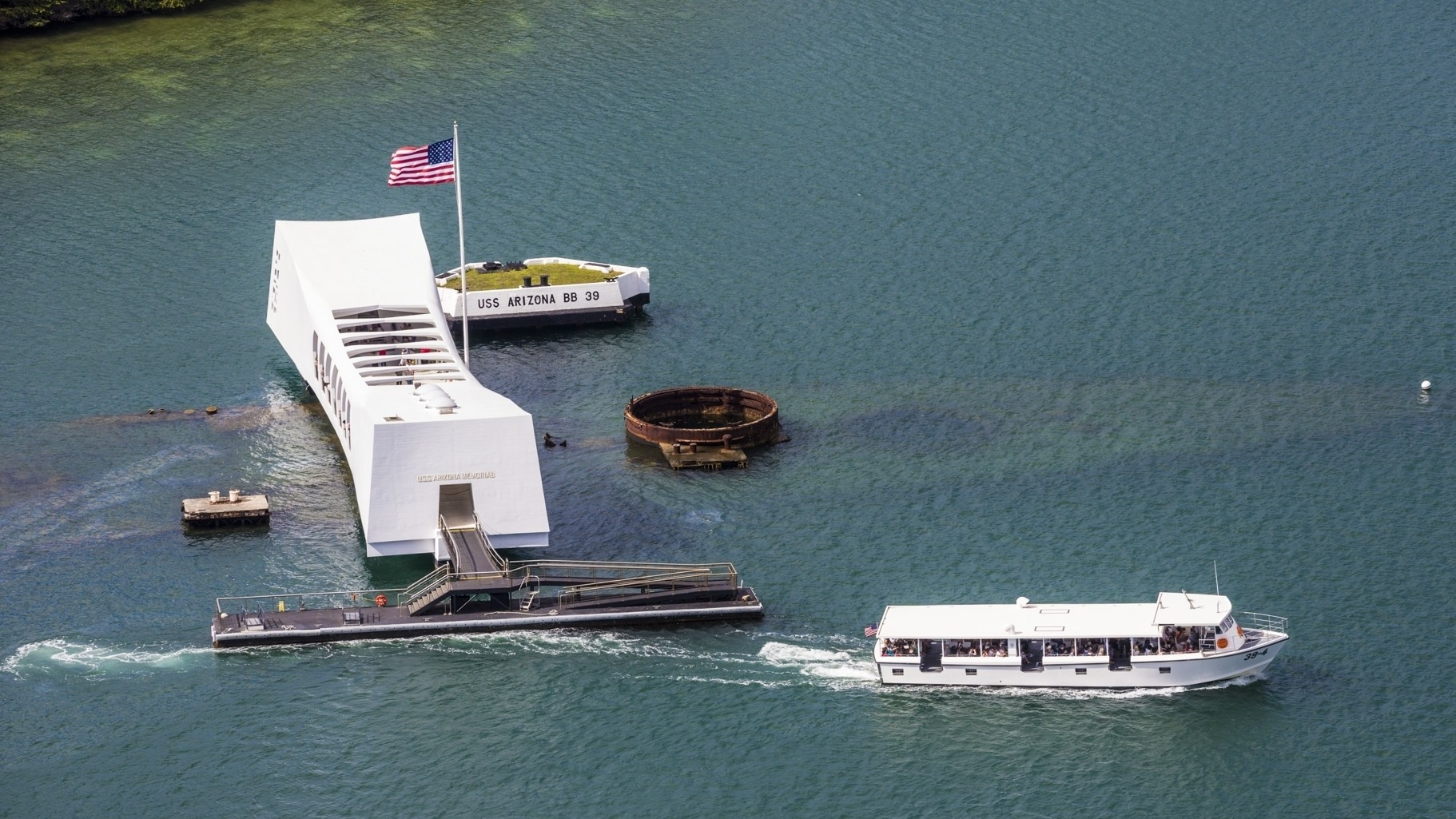 USS Arizona Memorial at Pearl Harbor closed after Navy