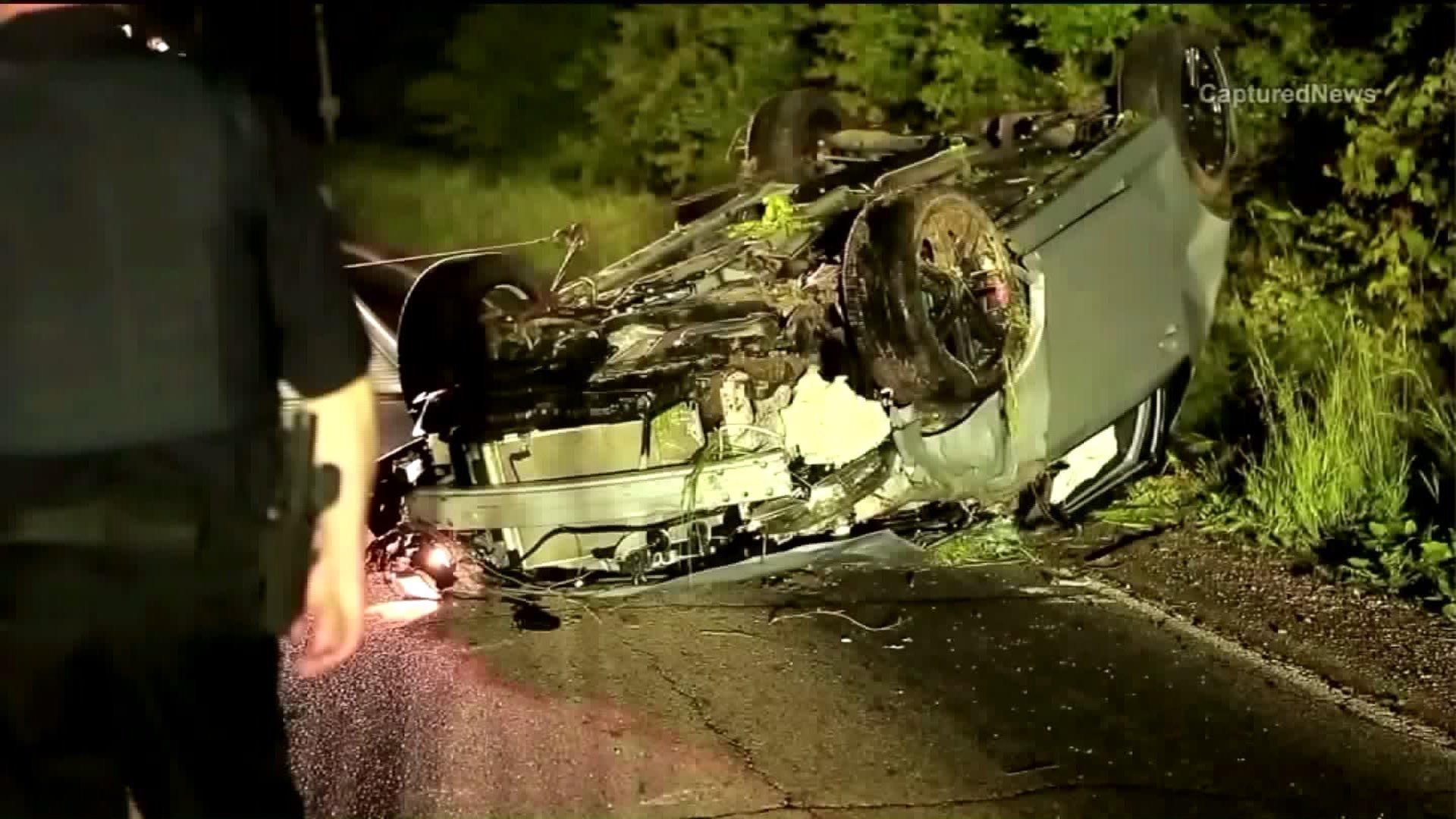 Car Crash On I  Ct