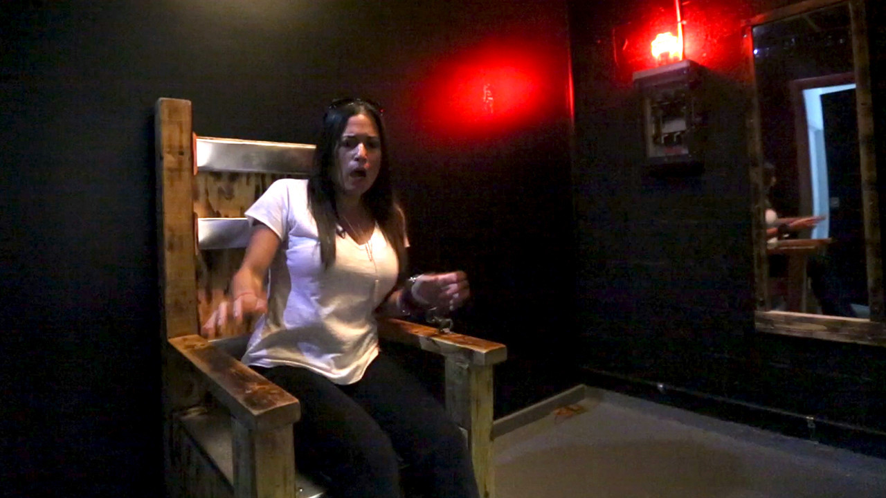 Electric chairs and handcuffs help co-workers bond - Sun ...  Electric chairs...