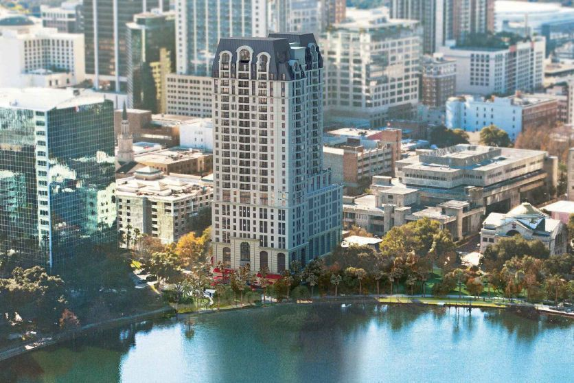 New 28 Story Tower Proposed On Shores Of Lake Eola