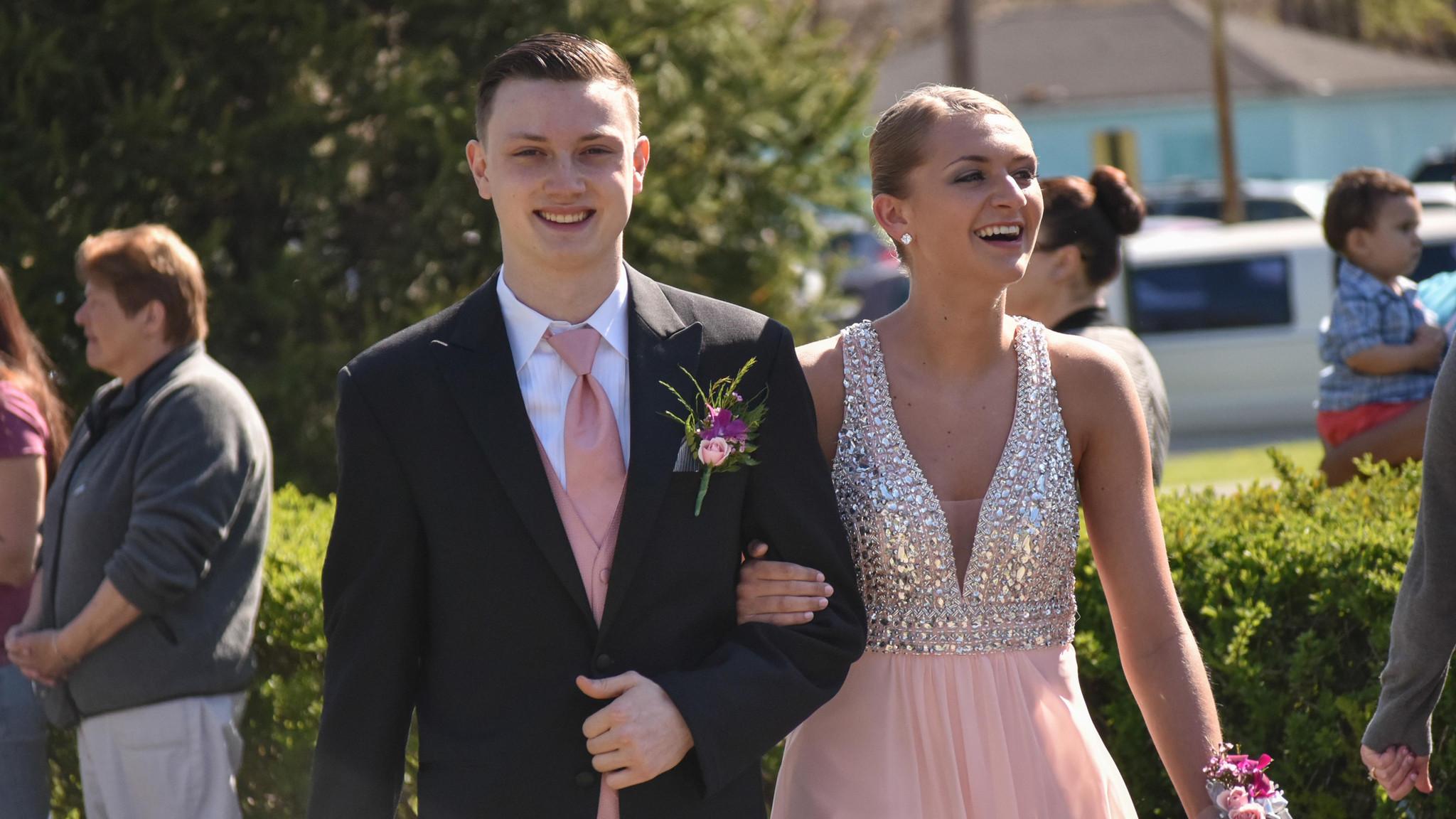 At prom