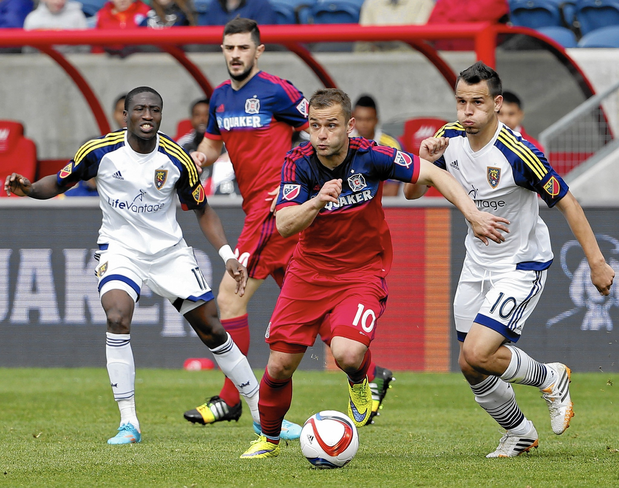 Lake City Toyota >> Chicago Fire soccer club overhauls roster in hopes of getting back to playoffs - Orlando Sentinel