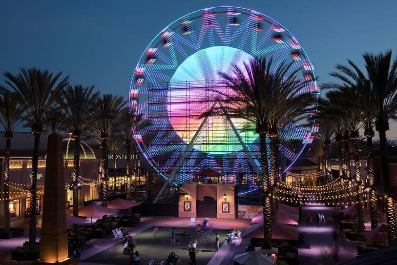 Free Rides This Weekend On Irvine Spectrum S Ferris Wheel