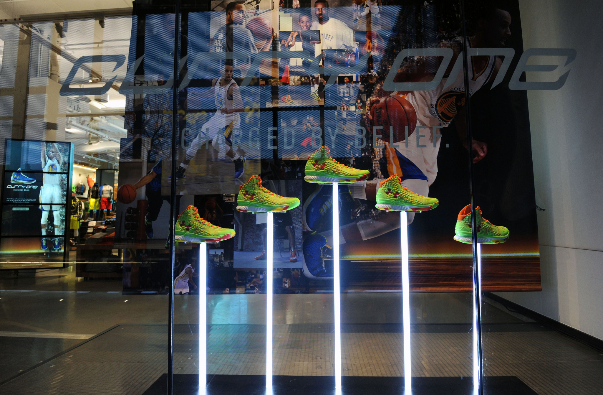 Under Armour wants to open Brand House store in Boston
