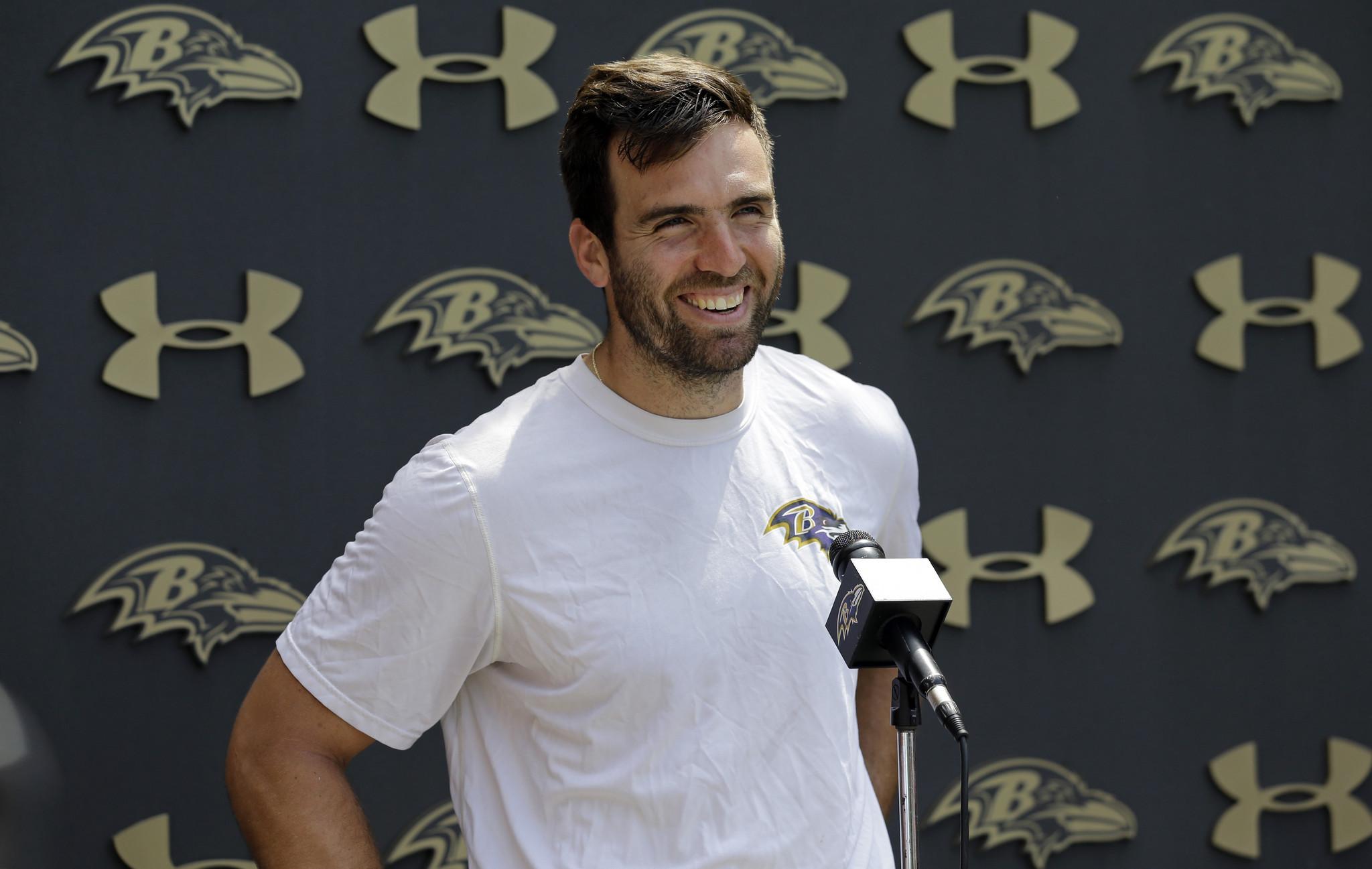 Ravens quarterback Joe Flacco not feeling his age, says he ...