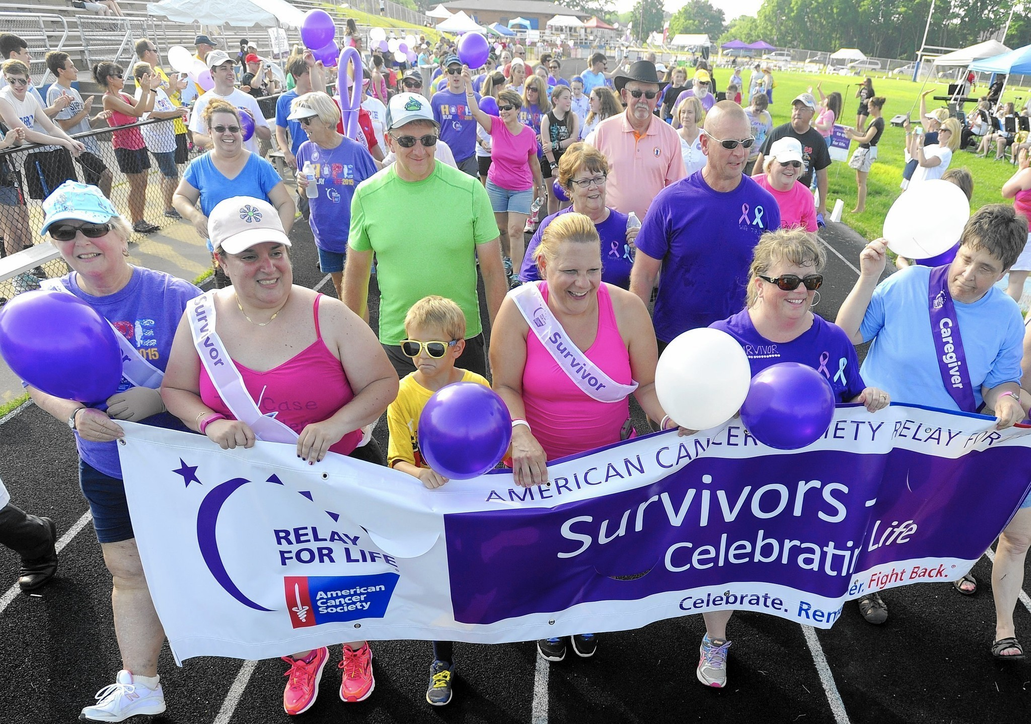 Image result for Relay for Life fights cancer through donations, support and song