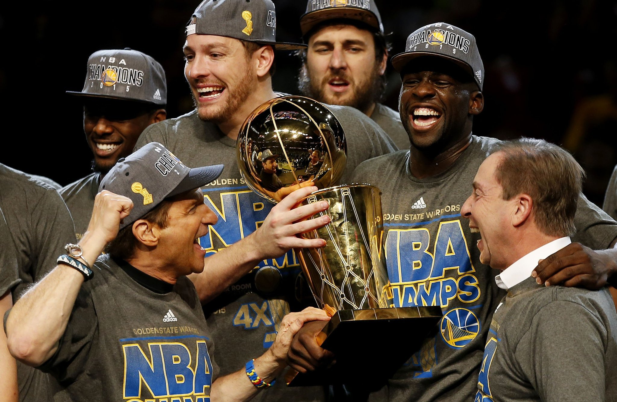 Warriors claim first NBA title since 1975 with Game 6 win ...