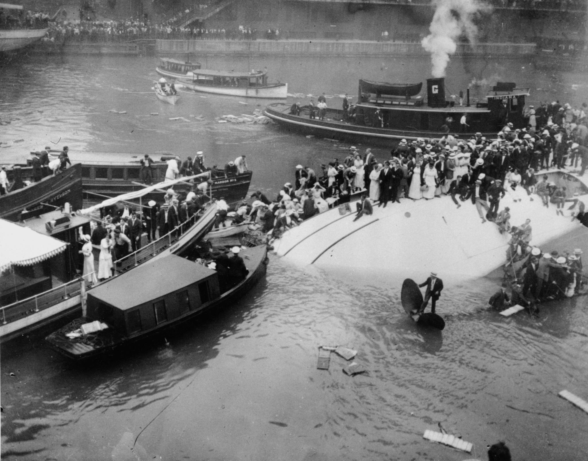 Historians Stage Criminal Trial For Eastland Disaster