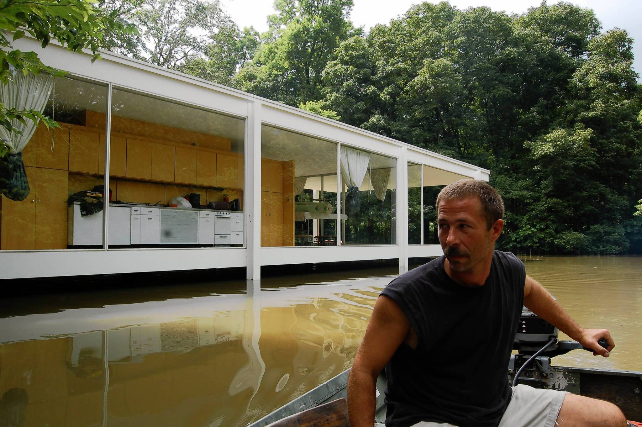 Plan Would Lift Farnsworth House Out Of Harm S Way