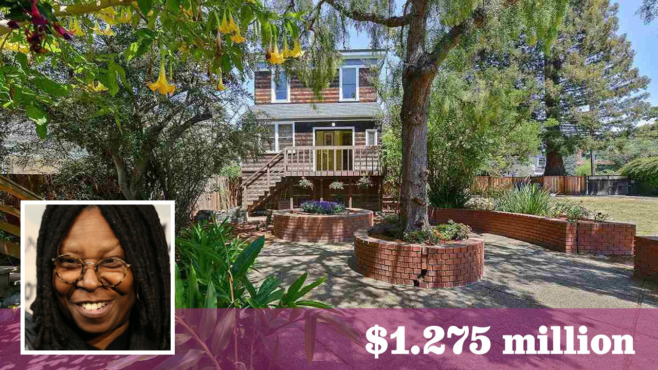 Whoopi Goldberg Lists Victorian Compound In Berkeley For 1 275