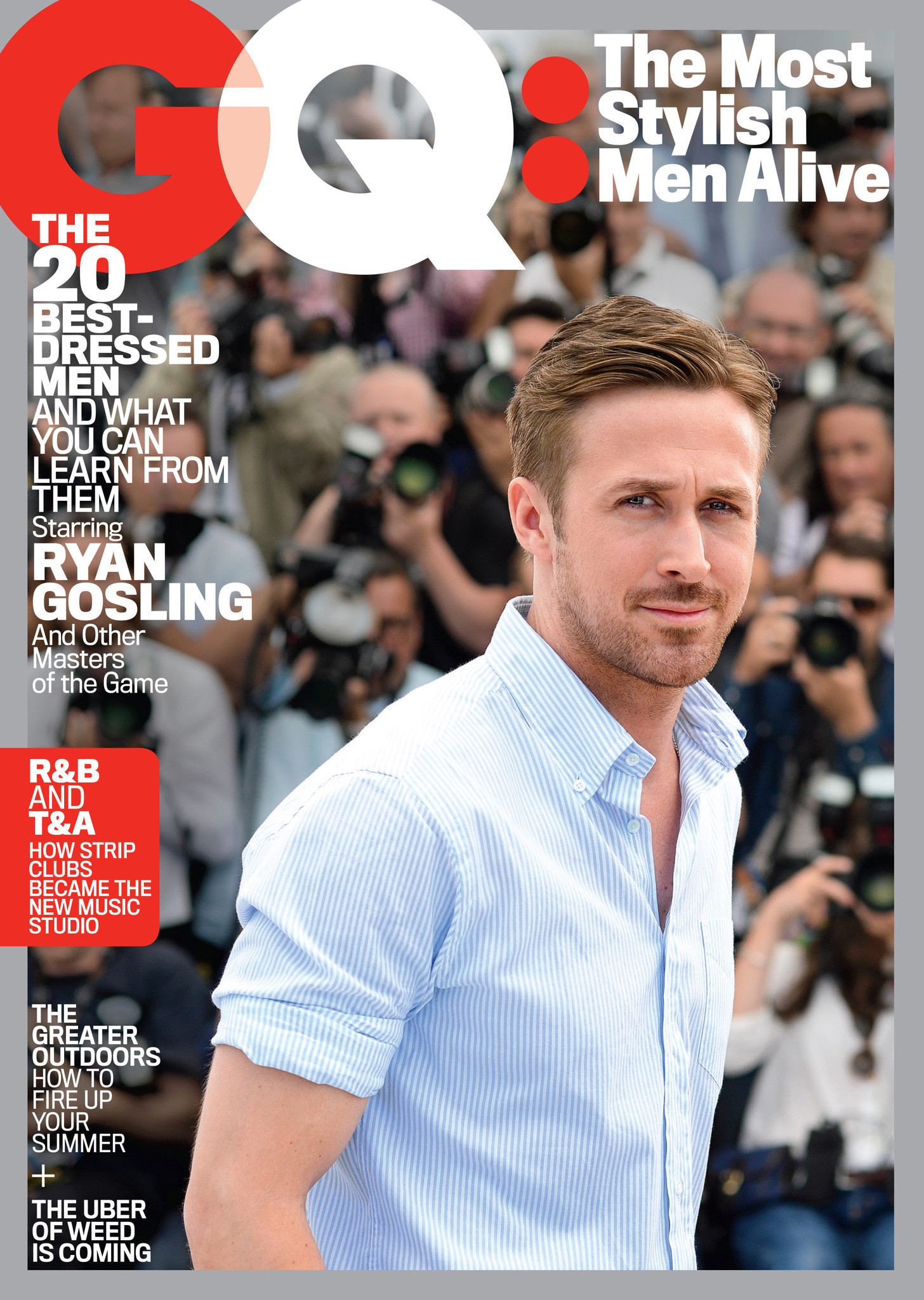 Ryan Gosling, Kanye, Pharrell Top GQ's First-ever List Of
