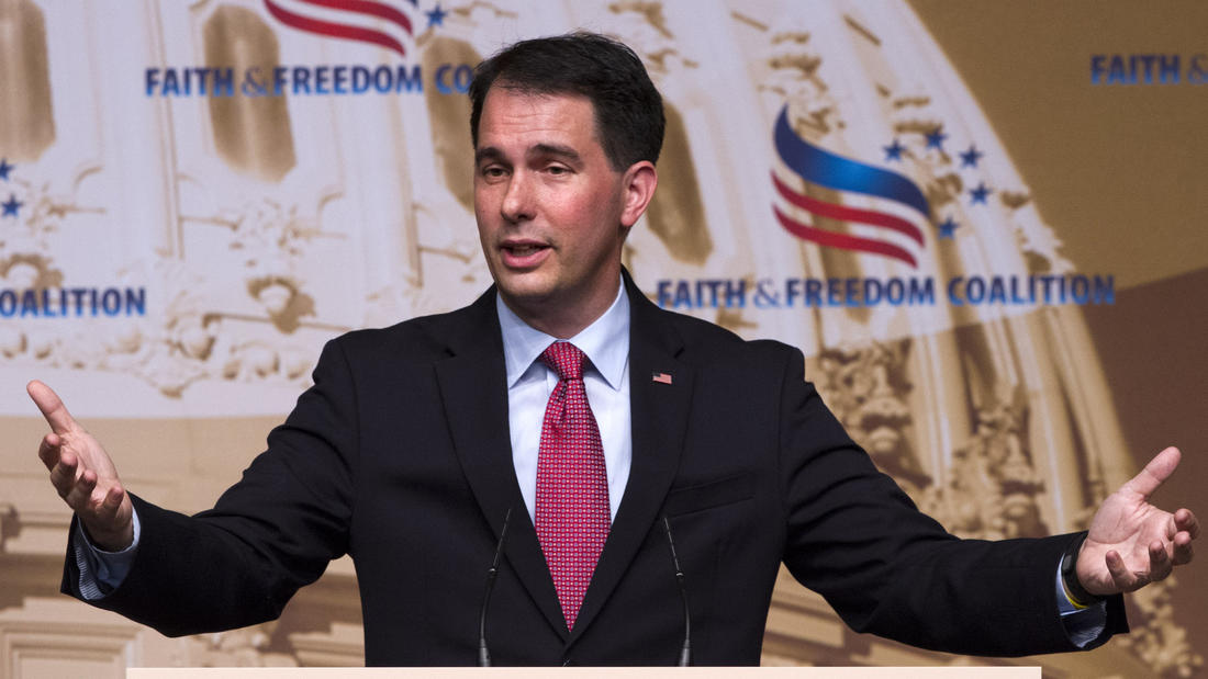 Wisconsin Gov. Scott Walker, a former Trump challenger, will speak at the 2016 Republican National Convention.