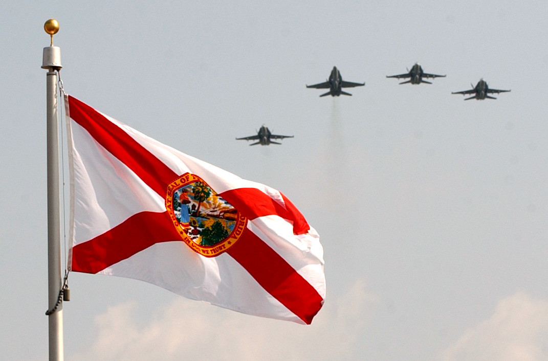 Could Florida Flag S Resemblance To Confederate Flag Spur