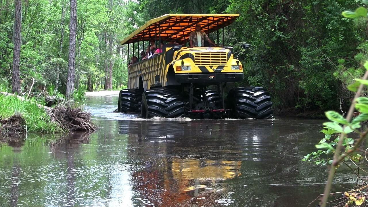 Pictures Of Jacked Up Trucks >> Monster truck swamp safari - Orlando Sentinel